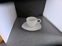 Thomas Vario Pure Koffie kop en schotel 3 hoekig