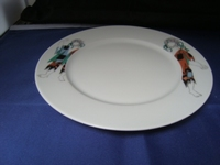 Dessertbord/ ontbijtbord Picasso