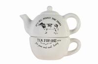 Tea for one Moo