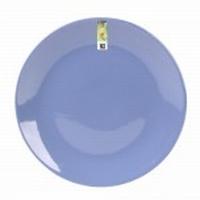 Ontbijtbord Basic blauw