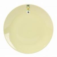 Ontbijtbord Basic groen