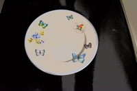 Dinerbord Spring Butterfly