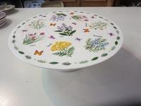 Taartplateau/ Cake standaard Butterfly Meadows