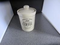 Voorraadpot Koffie rond Beautilful Home