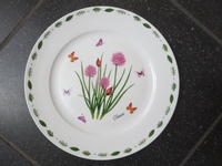 Dinerbord Chive Butterfly Meadows