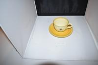 Cappuccino kop en schotel Bijenland