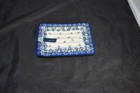 Soap dispencer retangular Royal Blue Bunzlau Castle