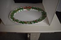Ovale schaal Kerst