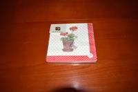 Geranium servetten