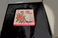 Le Rosier Rose servetten