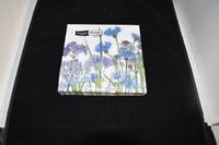 Blauwe Bloemen servetten