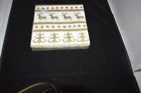 Christmas Stencils Gold servetten
